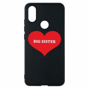 Etui na Xiaomi Mi A2 Big sister, napis w sercu