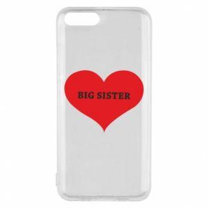 Etui na Xiaomi Mi6 Big sister, napis w sercu