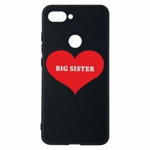 Etui na Xiaomi Mi8 Lite Big sister, napis w sercu