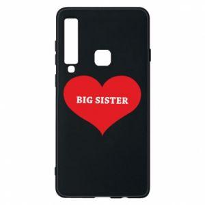 Etui na Samsung A9 2018 Big sister, napis w sercu