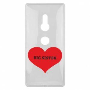 Etui na Sony Xperia XZ2 Big sister, napis w sercu