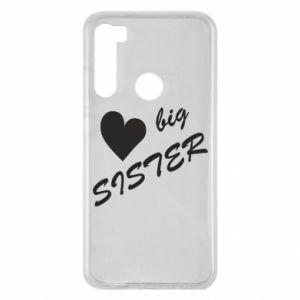 Xiaomi Redmi Note 8 Case Big sister