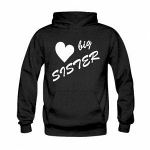 Kid's hoodie Big sister