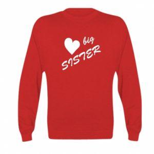 Kid's sweatshirt Big sister