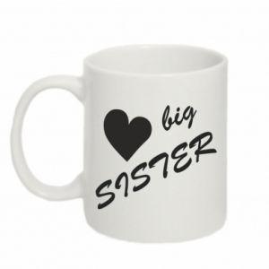 Kubek 330ml Big sister - PrintSalon