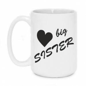 Kubek 450ml Big sister - PrintSalon
