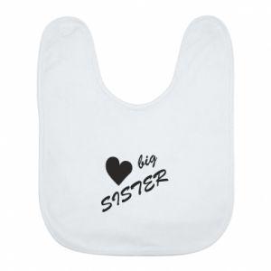 Śliniak Big sister - PrintSalon