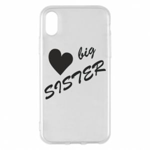 Etui na iPhone X/Xs Big sister