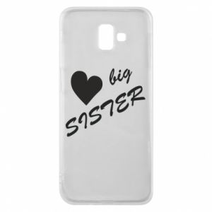 Etui na Samsung J6 Plus 2018 Big sister