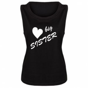 Damska koszulka Big sister - PrintSalon