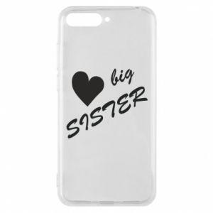 Huawei Y6 2018 Case Big sister
