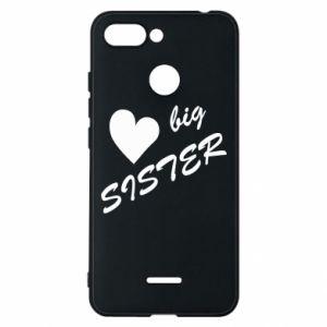 Xiaomi Redmi 6 Case Big sister