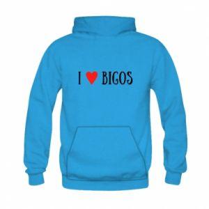 Bluza z kapturem dziecięca Bigos
