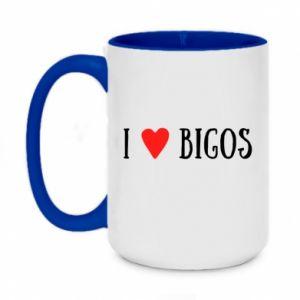 Kubek dwukolorowy 450ml Bigos
