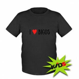Dziecięcy T-shirt Bigos