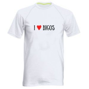 Men's sports t-shirt Bigos