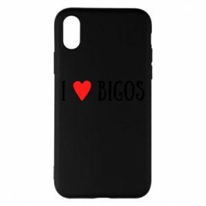 Etui na iPhone X/Xs Bigos