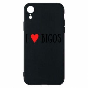 Etui na iPhone XR Bigos