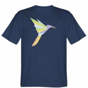 T-shirt Bird flying abstraction - PrintSalon
