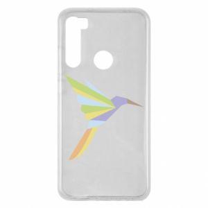 Etui na Xiaomi Redmi Note 8 Bird flying abstraction