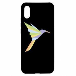 Etui na Xiaomi Redmi 9a Bird flying abstraction
