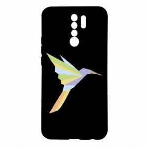 Etui na Xiaomi Redmi 9 Bird flying abstraction