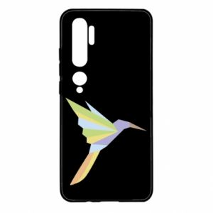 Etui na Xiaomi Mi Note 10 Bird flying abstraction