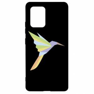 Etui na Samsung S10 Lite Bird flying abstraction