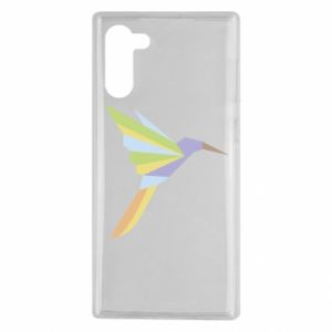 Etui na Samsung Note 10 Bird flying abstraction