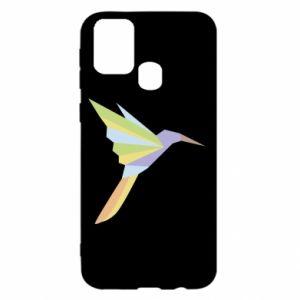 Etui na Samsung M31 Bird flying abstraction