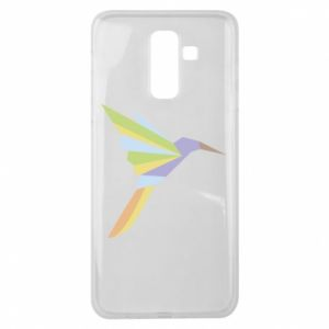 Etui na Samsung J8 2018 Bird flying abstraction