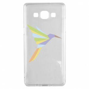 Etui na Samsung A5 2015 Bird flying abstraction