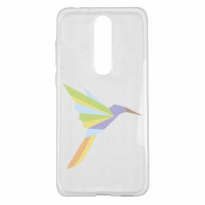 Etui na Nokia 5.1 Plus Bird flying abstraction