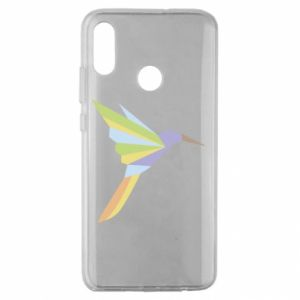 Etui na Huawei Honor 10 Lite Bird flying abstraction