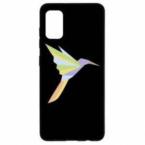 Etui na Samsung A41 Bird flying abstraction