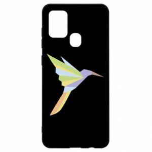 Etui na Samsung A21s Bird flying abstraction