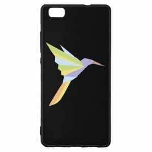 Etui na Huawei P 8 Lite Bird flying abstraction