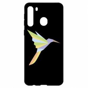 Etui na Samsung A21 Bird flying abstraction