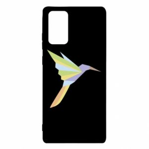 Etui na Samsung Note 20 Bird flying abstraction