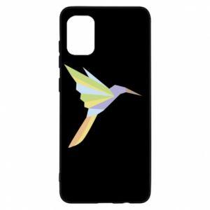 Etui na Samsung A31 Bird flying abstraction