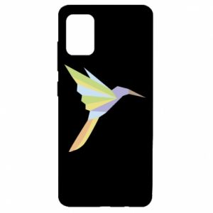 Etui na Samsung A51 Bird flying abstraction