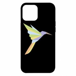 Etui na iPhone 12 Pro Max Bird flying abstraction