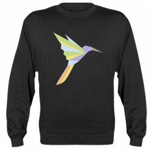 Sweatshirt Bird flying abstraction - PrintSalon