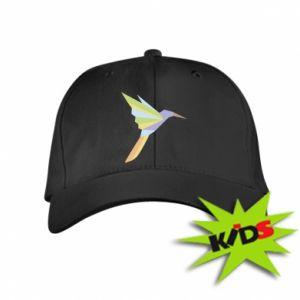 Kids' cap Bird flying abstraction - PrintSalon