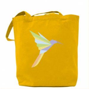 Bag Bird flying abstraction - PrintSalon