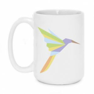 Mug 450ml Bird flying abstraction - PrintSalon
