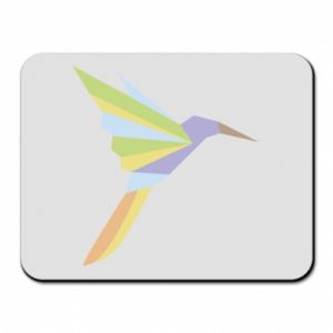 Mouse pad Bird flying abstraction - PrintSalon
