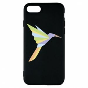 Phone case for iPhone 8 Bird flying abstraction - PrintSalon