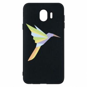 Phone case for Samsung J4 Bird flying abstraction - PrintSalon