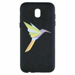 Phone case for Samsung J5 2017 Bird flying abstraction - PrintSalon
